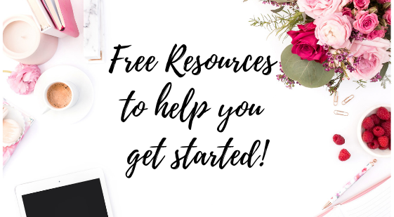Free Resources to help you get started!